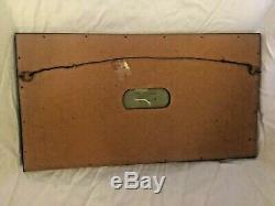 Vintage Wedgwood Sage Green Jasperware 7x13 Framed Matted Seasons Plaque NICE
