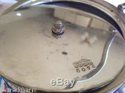 WEDGWOOD VeRy OlD JASPERWARE BLUE DIP BISCUIT TEA BARREL JAR SILVER LID c 1891