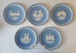Wedgewood Jasperware Christmas Plates, Set of 20 (1969-1988)