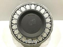 Wedgwood BLACK JASPERWARE Arabesque Bowl 5 Inch C. 1968