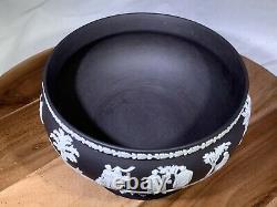 Wedgwood BLACK JASPERWARE Round Imperial Bowl