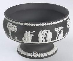 Wedgwood BLACK JASPERWARE Round Imperial Bowl 3897590