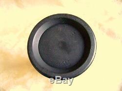 Wedgwood Black Basalt Jasperware Arcadian Spill Vase Mint Condition