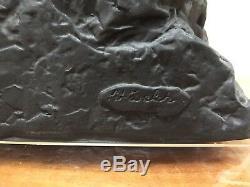 Wedgwood Black Jasper Athlete Olympics London 2012 Prestige Tableau Figurine 5k
