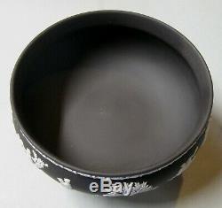 Wedgwood Black Jasperware Basalt Footed Imperial Bowl