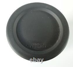 Wedgwood Black Jasperware Egyptian Pot and Lid RARE