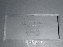 Wedgwood Black Jasperware Framed Plaque THE SEASONS L@@K