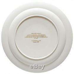 Wedgwood Diced Trophy Plate Second In The Museum Series Tri Colour Jasperware