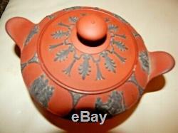 Wedgwood Egyptian Rosso Antico Sugar Bowl