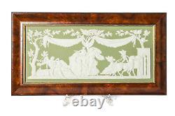 Wedgwood Genius Collection Green Jasperware Plaque Selene & Endymion Ltd Edn