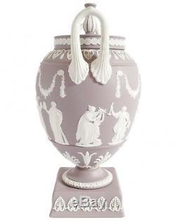 Wedgwood Grecian Urn RARE lilac Jasperware urn vase