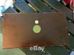 Wedgwood Green Jasperware Gold 7x13 Framed Mat DANCING HOURS 3x9 Plaque NICE