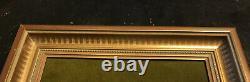 Wedgwood Green Jasperware Gold 8x10 Framed Mat DANCING HOURS 5x7 Plaque