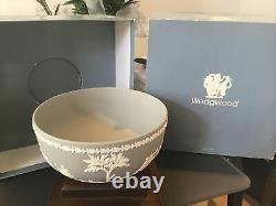 Wedgwood Grey & White Jasperware SACRIFICE BOWL BOXED SIGNED JASPER WARE
