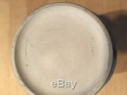 Wedgwood Japerware Antique Dark Cobalt Blue Dip 6+ Portland Vase C1900 NICE