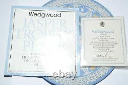 Wedgwood Jasper Tri Colour Trophy Plate 1974 Bi Centenary No. 208 Of 250