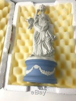 Wedgwood Jasper Ware Calliope Classical Muses Porcelain Figurine