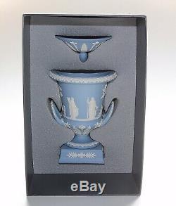 Wedgwood Jasper Ware, Campana Urn, 12 Inches, Boxed, Vase
