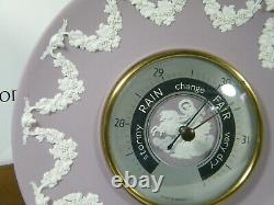Wedgwood Jasper Ware Lilac Barometer, Superb condition, find nother!