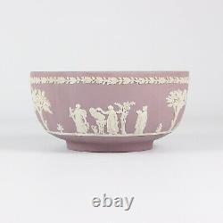 Wedgwood Jasper Ware Lilac Fruit Bowl