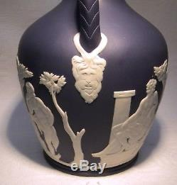 Wedgwood Jasper Ware Portland 6 Vase 1976