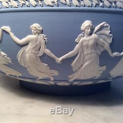 Wedgwood Jasperware 10 Inch Dancing Hours Bowl
