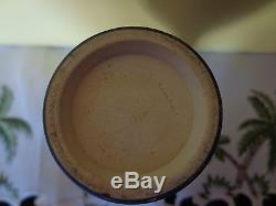 Wedgwood Jasperware Biscuit Jar Sterling LID