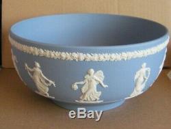 Wedgwood Jasperware Blue Dancing Hours Collectors Society Bowl