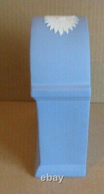 Wedgwood Jasperware Blue West Highland Terrier Mantel Clock Limited Edition
