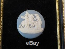 Wedgwood Jasperware Collectors Society Framed Plaque / Medallion #1