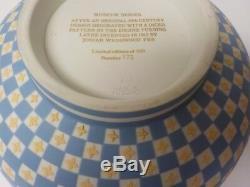 Wedgwood Jasperware DICEWARE Tri-Color 8 Bowl, 1979 Limited Edition