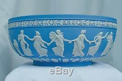 Wedgwood Jasperware Dancing Hours Bowl Blue 10