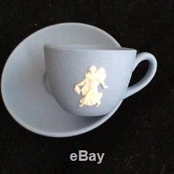 Wedgwood Jasperware Miniature Teaset Dancing Hours Limited Edition No. 30