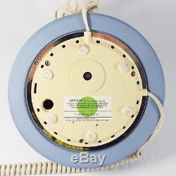 Wedgwood Jasperware Rotary Dial Astral Telecom English Telephone Blue 1986