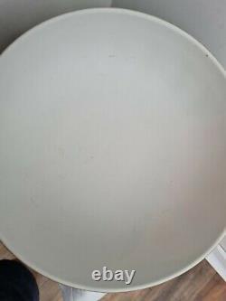 Wedgwood Jasperware White On Basalt Black Large Dancing Hours Prestige Bowl