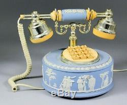 Wedgwood Jasperware blue telephone. Working order