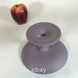 Wedgwood Lilac Jasperware Tazza Footed Dish
