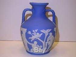 Wedgwood Pale Blue Dip Jasper Ware Portland Vase c. 1840