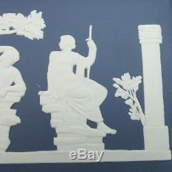 Wedgwood Portland Blue Jasperware Freeze Portland Vase Plaque Bicentury LE 250