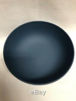Wedgwood Portland Blue Jasperware Pedestal Centerpiece Bowl