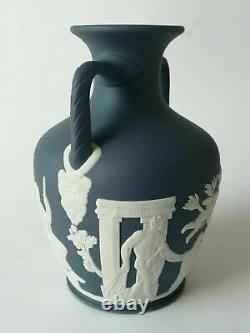 Wedgwood Portland Blue Jasperware Portland Vase