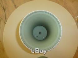 Wedgwood Sage Green Jasperware Unique Vintage-prestige Vase Urn