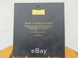 Wedgwood Terracotta Black Jasperware Tutankhamun Egyptian Plaque Limited Edition