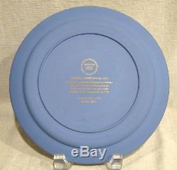 Wedgwood Tri Color Jasperware American Independence Bicentennial Plate