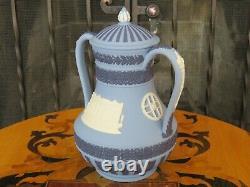 Wedgwood Tri-Color Portland Blue Jasperware Cutlers Vase Hallamshire LE 200 1975