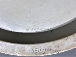 Wedgwood Yellow-Buff Dip withBlack Bas-Relief JasperWare Biscuit Jar c. 1820 MINT
