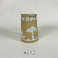 Wedgwood Yellow Jasperware 4 Pitcher