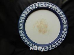 Wedgwood jasperware dark blue cobalt blue cheese dome with underplate, the best