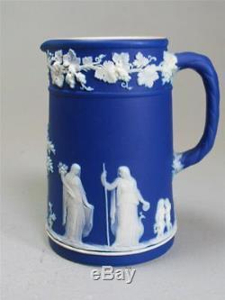 Wedgwood kobalt blau jasperware jug Krug