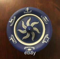 Wedgwood rare antique inkwell vase zodiac